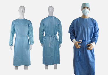 Reinforced Gown Sterile SMMS